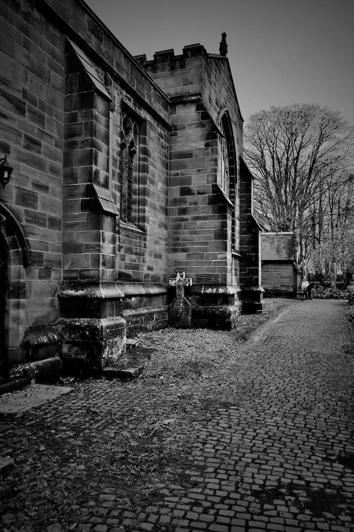 Along the church path