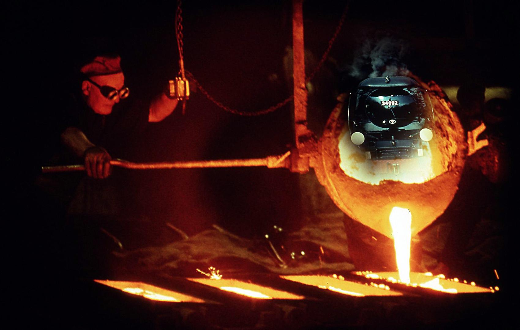 """Allan Stewart - """"Birth of a Steam Engine"""""""