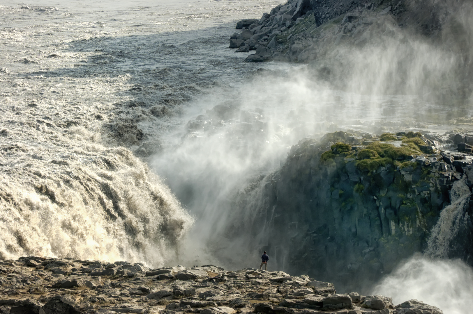 "Ray Allen - ""Dettifoss Waterfall"""