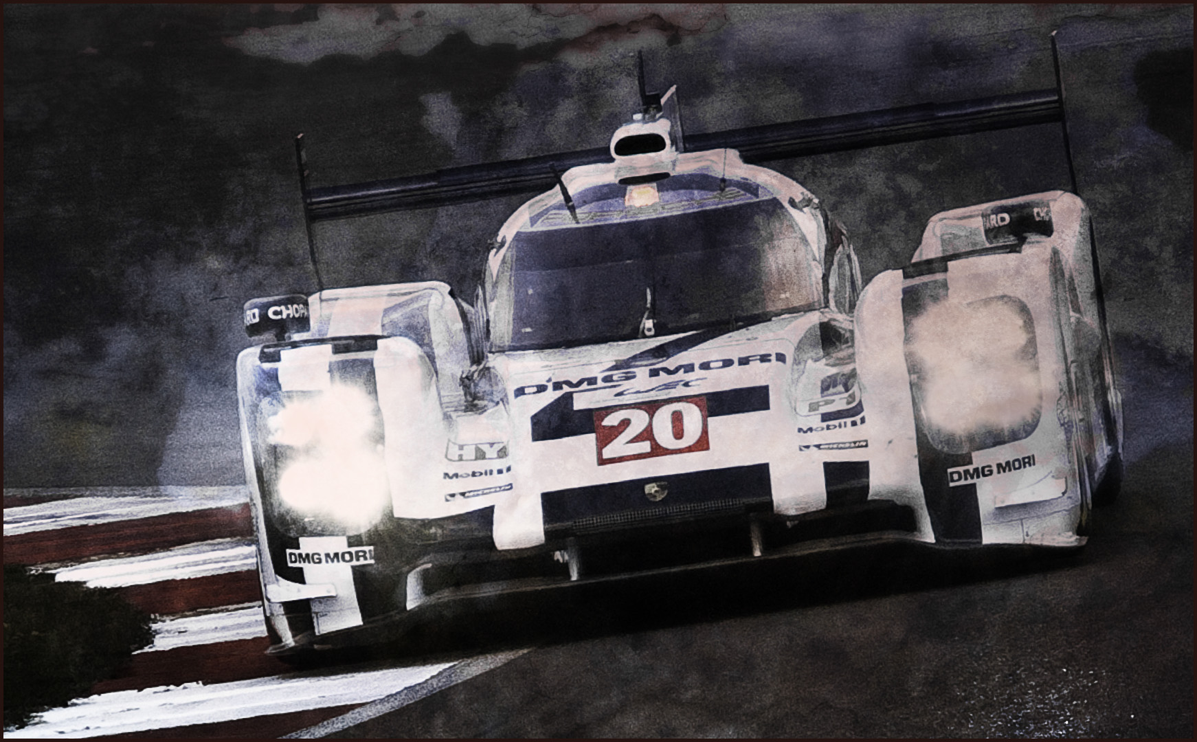"Tony Cartwright - ""Mark Webber, Porsche 919"""