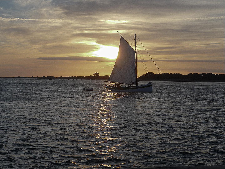 """Ian Luckett - """"Sunset in Brittany"""""""