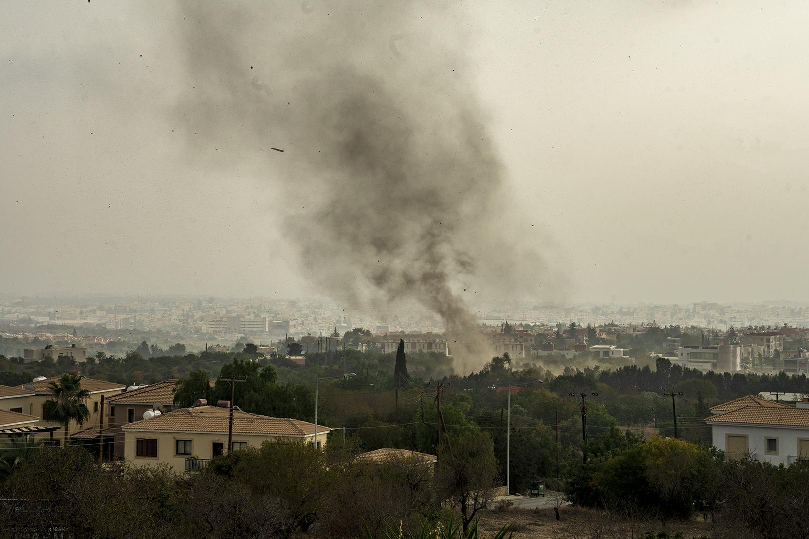 """Ester Riordan - """"Tornado in Cyprus"""""""