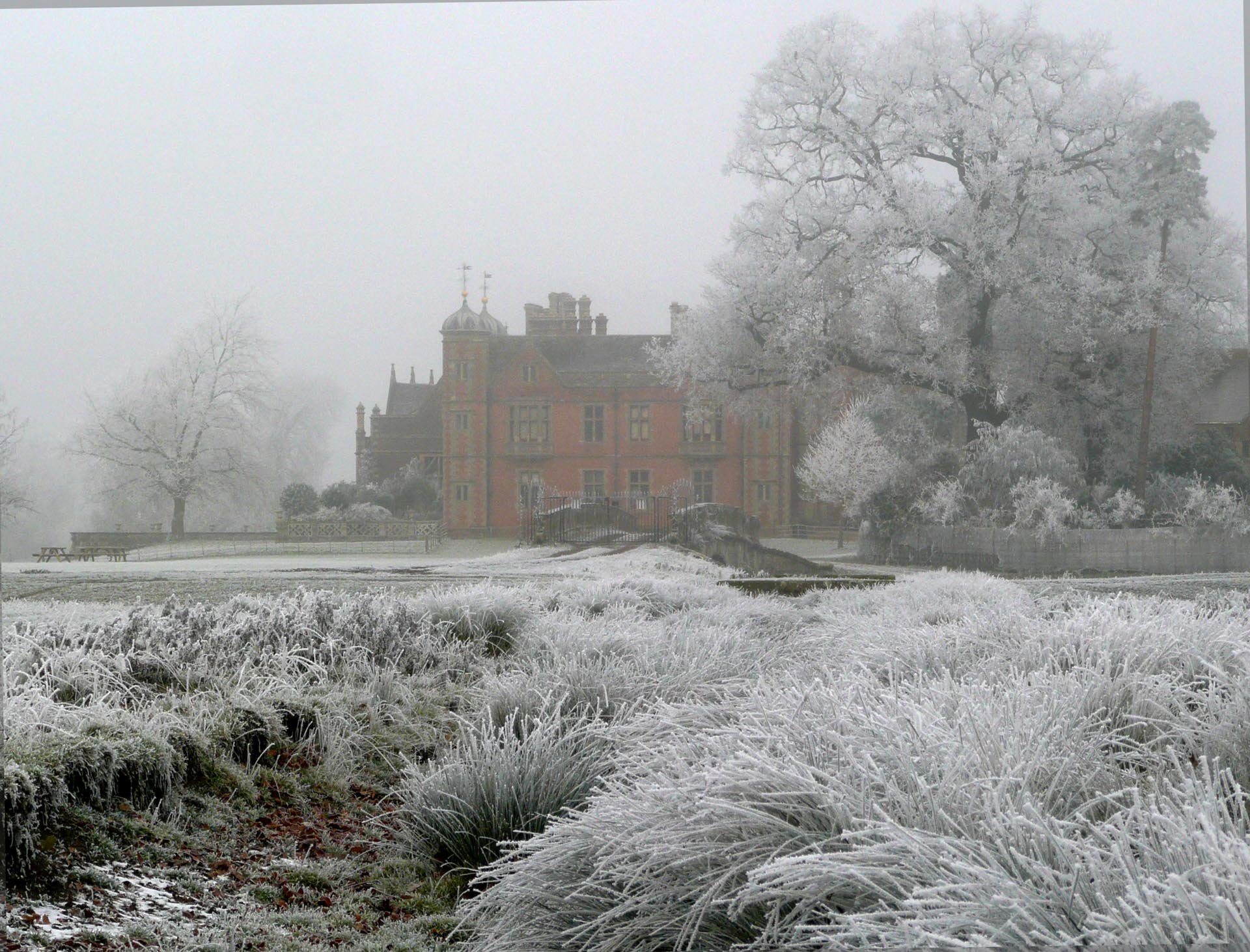 "Linda Johnson - ""Charlecote in Winter"""